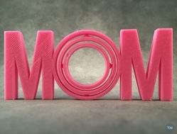 母亲节献礼——3d打印的MOM